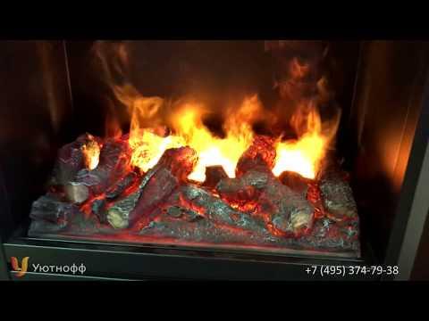 Видео обзор очага Olympic 3D RealFlame   Олимпик