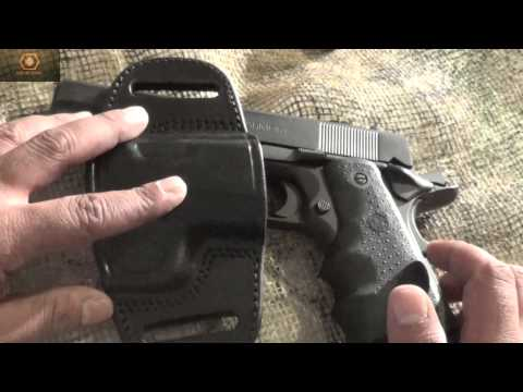 Tagua Quick Draw Holster for 1911 - YouTube