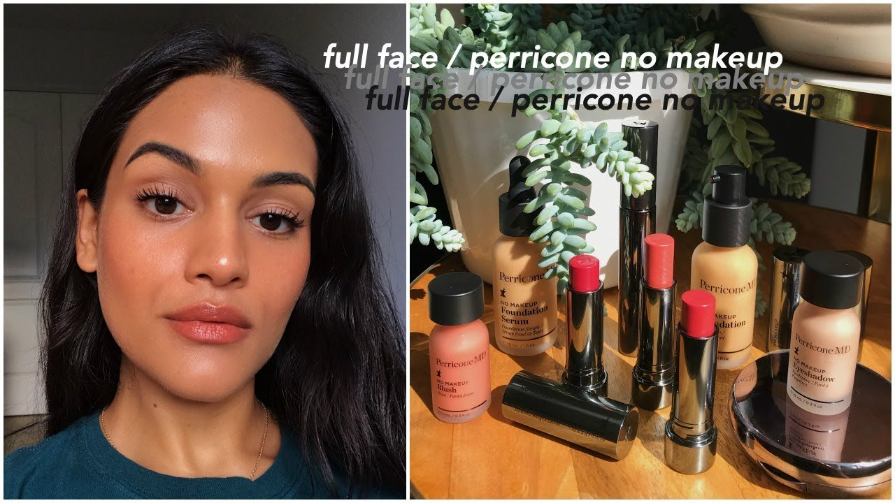 full face of perricone md no makeup // first impressions & wear test