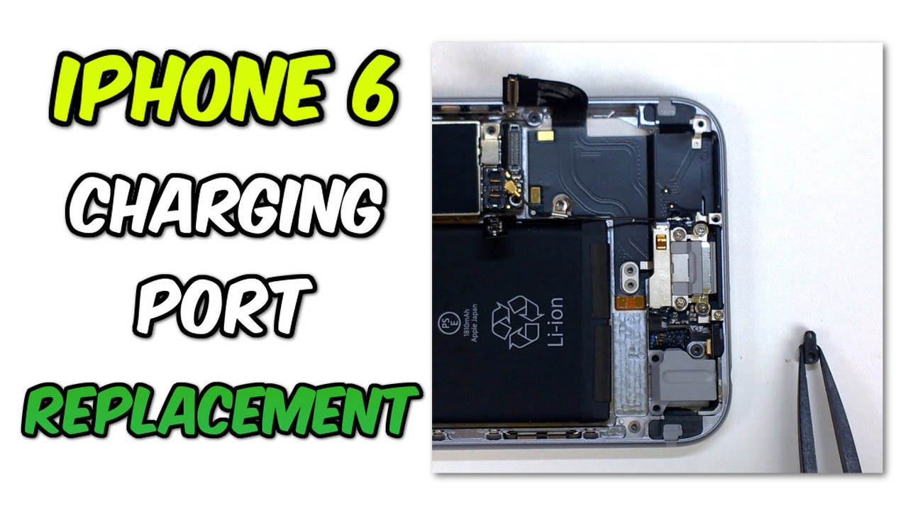 replace iphone charging port how to replace your iphone 6 charging port 3039