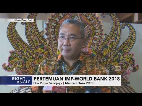 Pertemuan IMF - World Bank 2018 I Right Angle