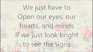 Open Your eyes - maher zain lyrics