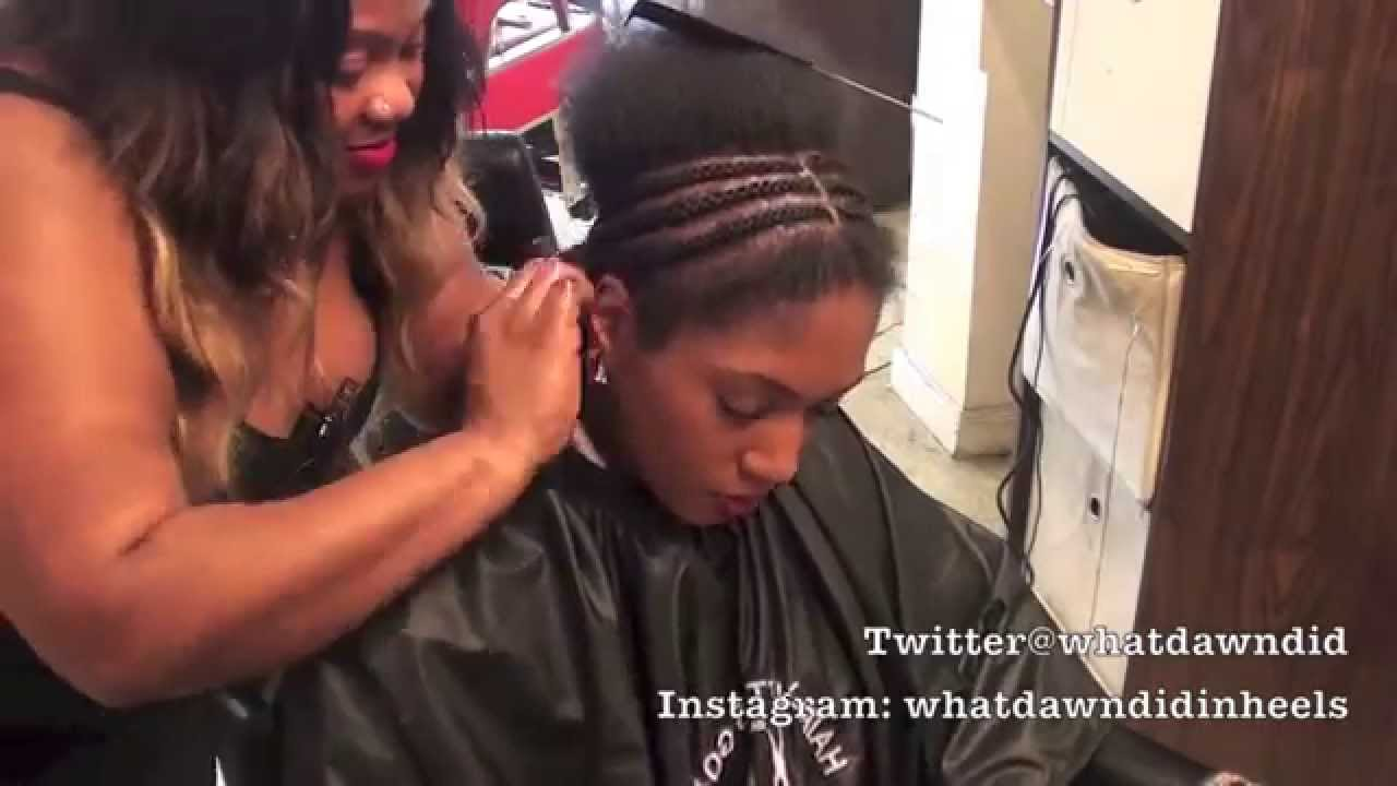 Full Weave Fitting By Amida Red Carpet Salon Spa Youtube