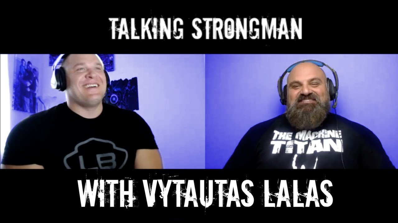 Download Talking Strongman with Vytautas Lalas
