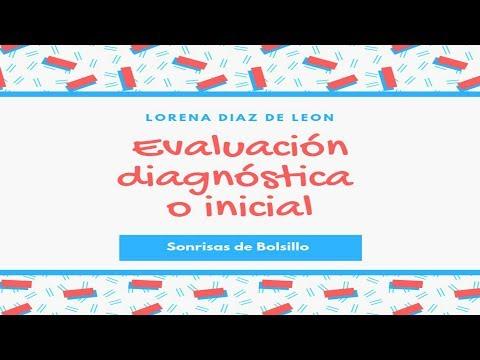 Evaluación Diagnóstica O Inicial