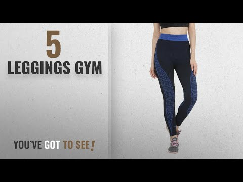 Top 10 Leggings Gym [2018]: Camey Women Stretchable Yoga Pant Gym legging Tights