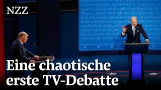 Die wichtigsten Momente der ersten TV-Debatte mit Donald Trump und Joe Biden | Wahlen USA 2020