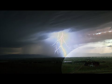[24 HOURS] POURING RAIN, THUNDERSTORM, LIGHTNING STRIKES  SOUNDS W/ SLOW MO RAINFALL VIDEO | HQ
