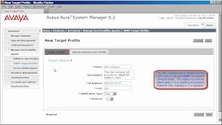 Configuring System Manager and Session Manager 6.2 to Alarm to a SAL Gateway using SNMPv2