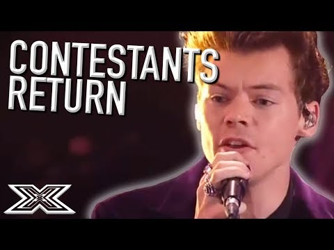 When CONTESTANTS return! Featuring Harry Styles, Little Mix and MORE | X Factor Global