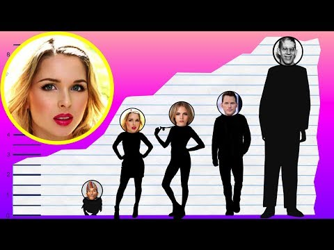 How Tall Is Kirsten Prout?  Height Comparison!
