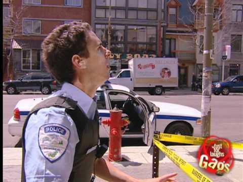 Police Limbo Prank