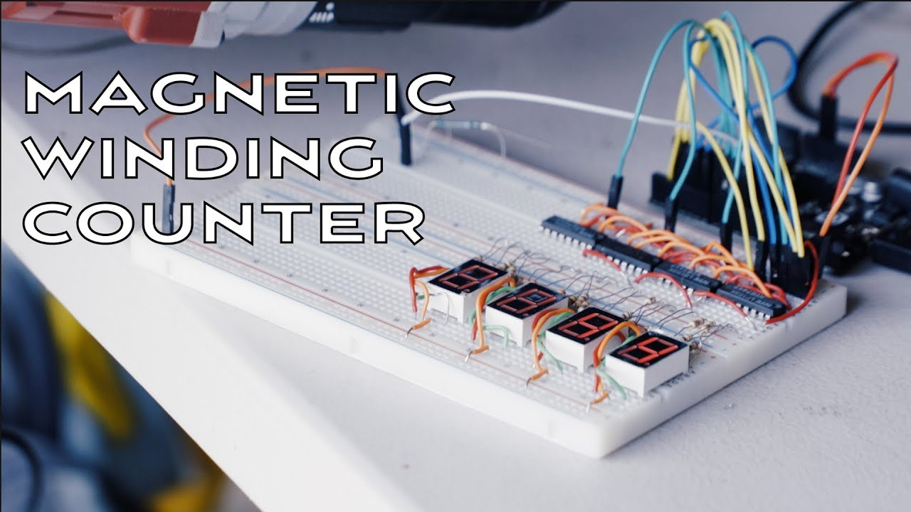 Arduino Project: The Making of a Digital Counter for a Coil Winding