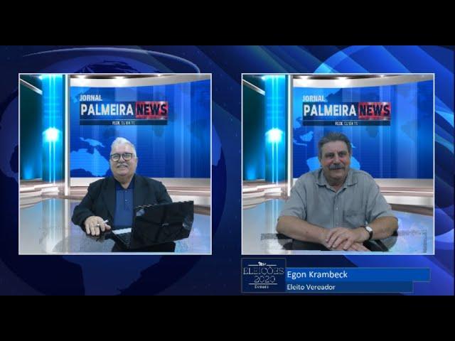 Jornal Palmeira News 20 de novembro de 2020 Especial Vereadores Eleitos com Egon Krambeck