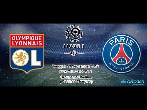 LIVE STREAMING BOLA : Ligue 1 Lyon Vs PSG Senin, 23 September 2019