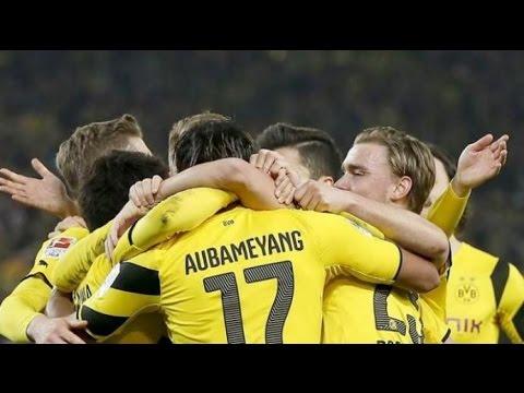 Штутгарт - Боруссия Д 0-3 Обзор матча 2016