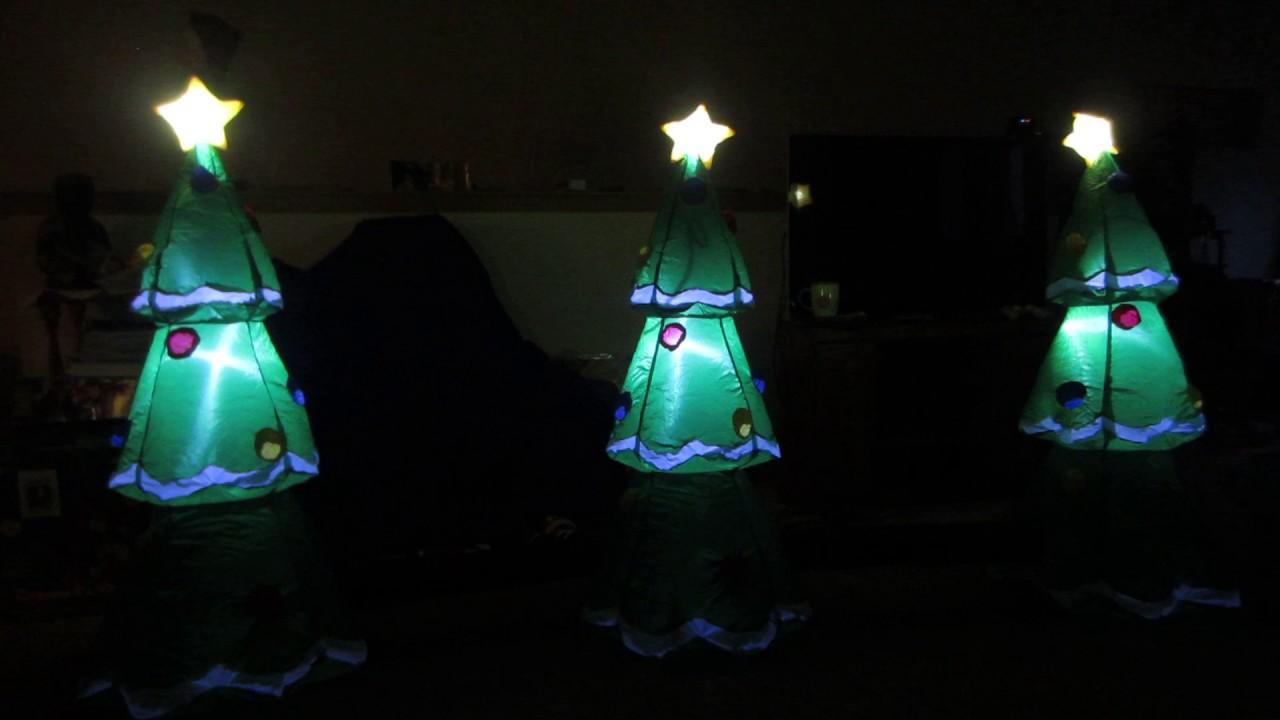 Gemmy Airblown Musical Synchronized Light Show Christmas