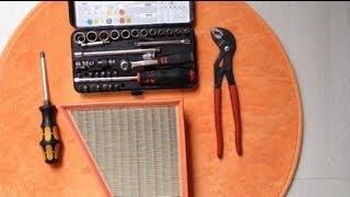 Wie kann ich: Luftfilter wechseln/ Luftfilter austauschen/Anleitung zum Wechsel der Luftfilter