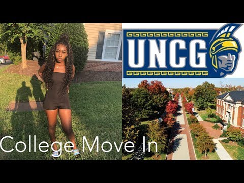 College Move In Day Vlog 2018 | UNCG | Spartan Village Tour