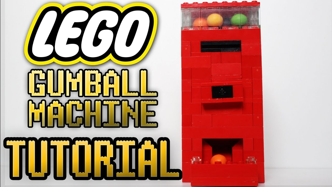 Lego Gumball Machine Tutorial Youtube