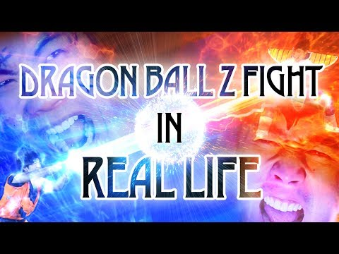 Dragon Ball Z Fight In Real Life!