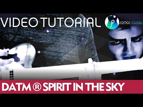 Como tocar SPIRIT IN THE SKY en guitarra - Doctor And The Medics [Tutorial Somos Posers]