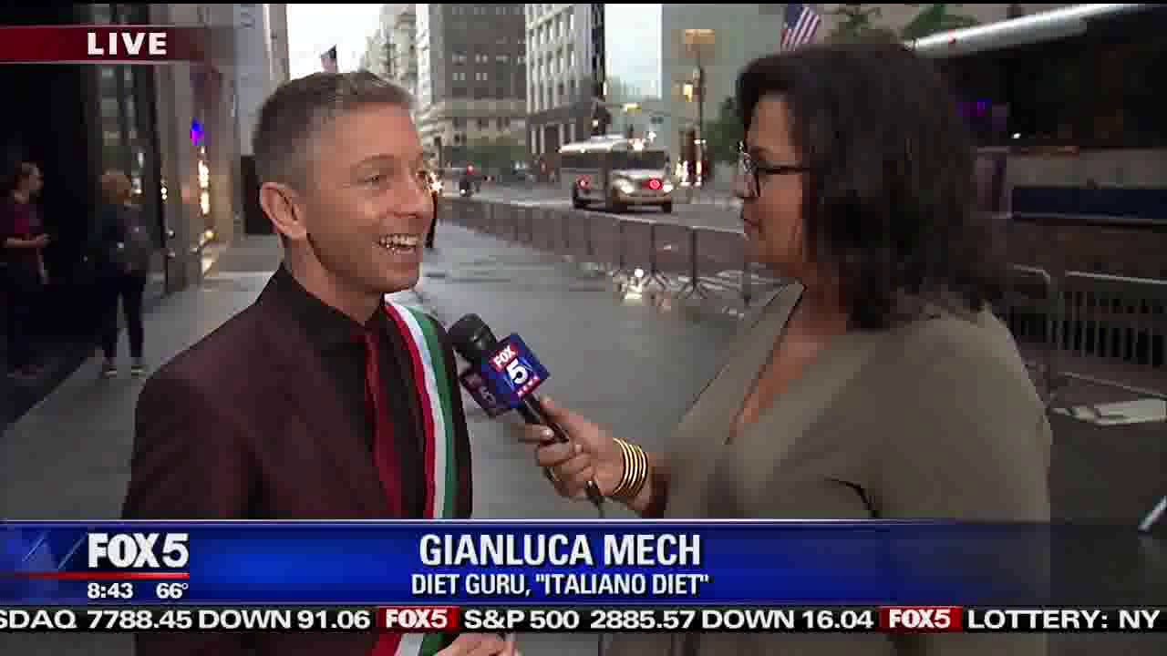 Gianluca Mech Columbus Day 2018