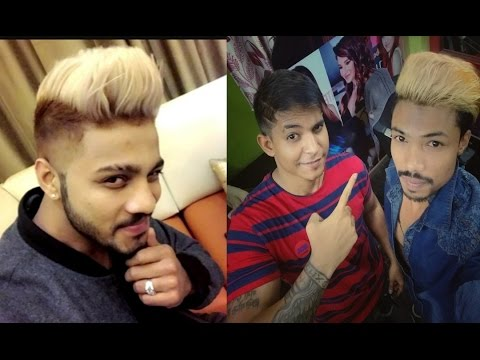 Raftaar Singer Rapper New Blonde Hairstyle Hair Colour 2017