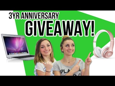 MacBook Air + Beats Headphones GIVEAWAY | Brooklyn and Bailey