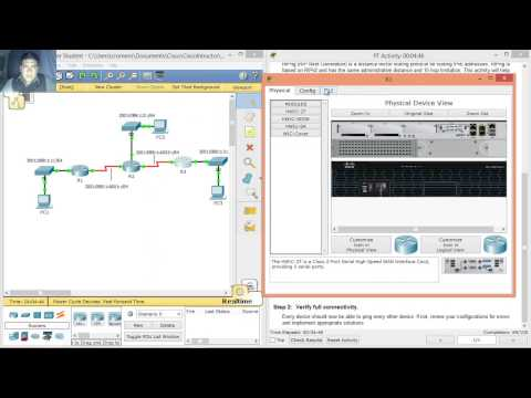 7.3.2.3 Packet Tracer - Configuring RIPng