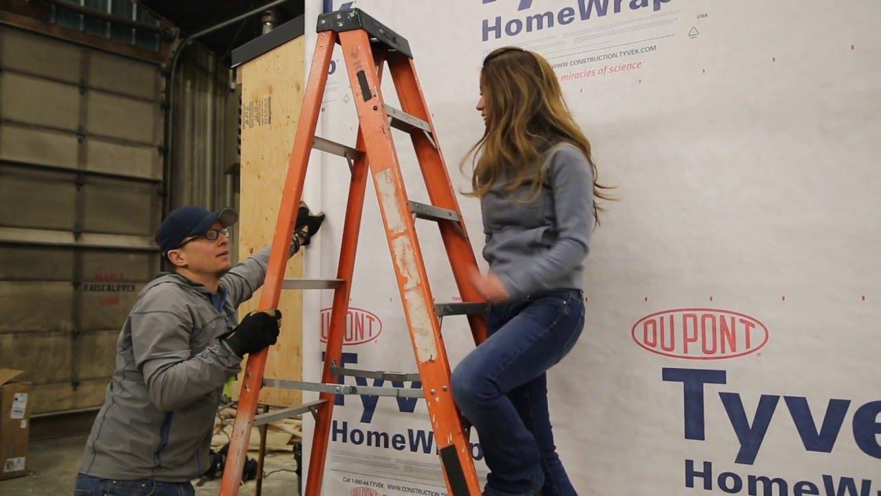 House Wrap Installation Ana White Tiny House Build Episode 7