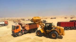 حفر قناة السويس الجديدة 24 ساعة يوميا أغسطس 2014
