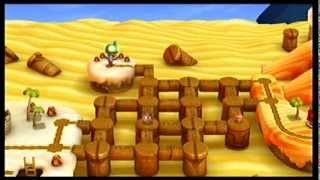 New Super Mario Bros. U - Desert Labyrinth (Layer-Cake Desert-Labyrinth) gameplay
