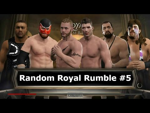 WWE 2K17   Random Royal Rumble #5 - WWF NXT WCW ECW TNA ROH CZW PWG BJW NJPW Lucha Underground