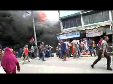 Kebakaran Toko Lhok Nibong Aceh Timur Youtube