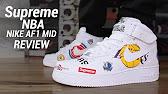 buy popular ec554 e60b7 SUPREME NBA NIKE AIR FORCE 1 MID REVIEW - Duration  6 39. Seth Fowler  75,976 views · 6 39