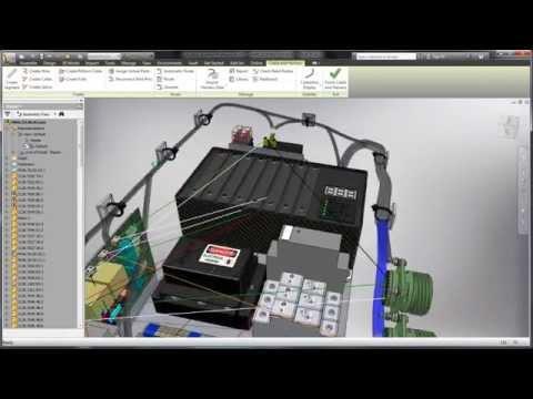 Autodesk Inventor + AutoCAD Electrical - Integración para generar esquemas eléctricos