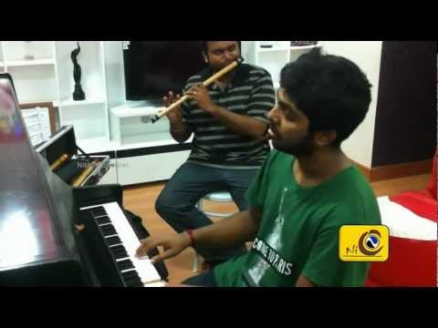 Thandavam Songs Composing Exclusive Video - Nikhils Channel