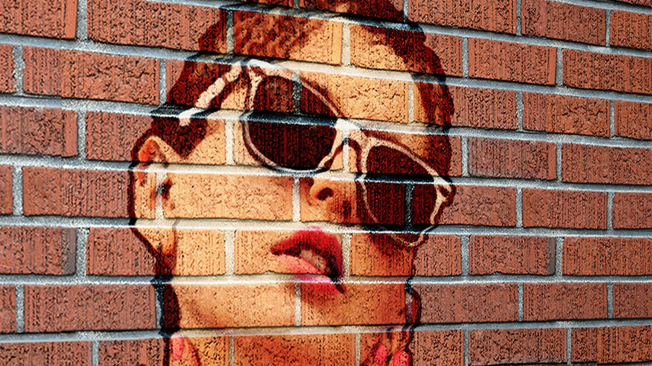 Cracked brick wall drawing brick wall - Photoshop Tutorial How To Transform A Photo Into A Brick Wall Portrait Youtube