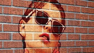 Photoshop: Transform a Photo into a Brick Wall Portrait