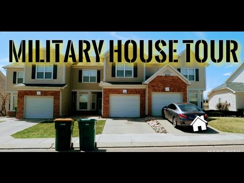 Military House Tour - Fort Carson