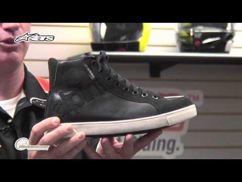 Alpinestars J-6 Canvas Waterproof Motorcycle Shoes