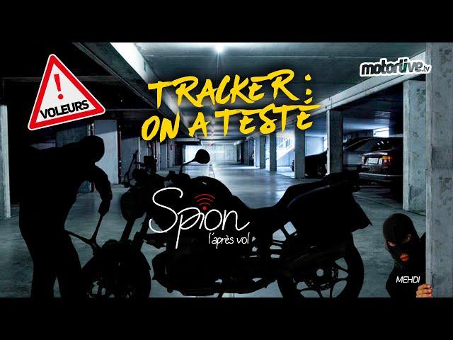 VOL MOTO SCOOTER : ON A TESTÉ LE TRACKER SPION I MOTORLIVE