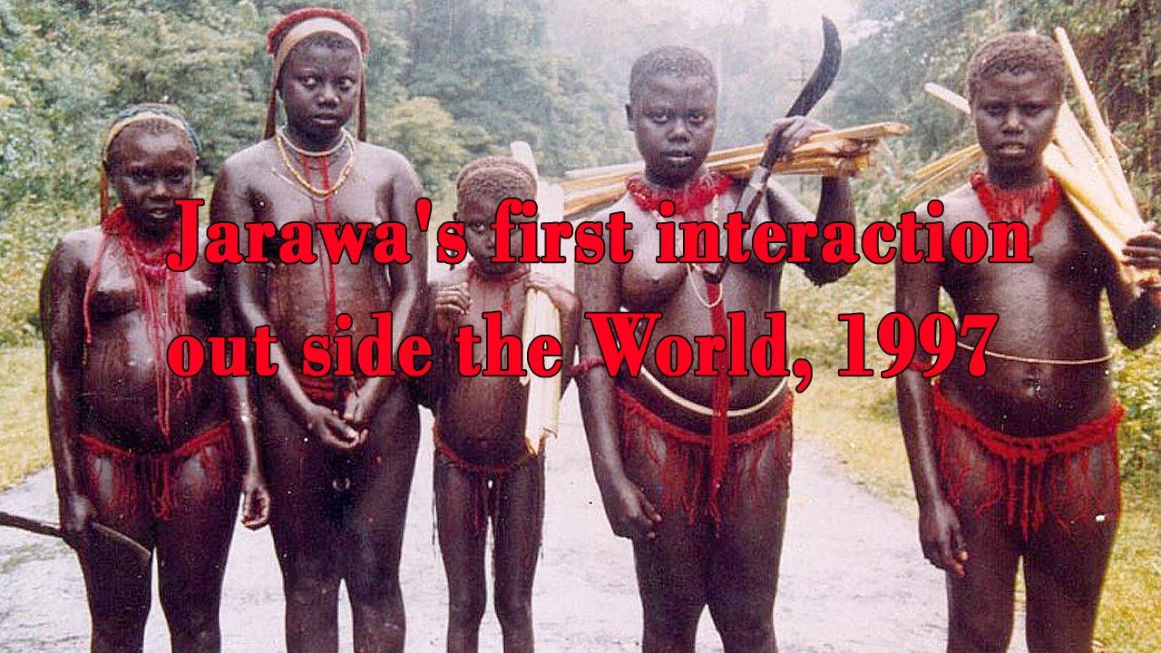 Секс с племенами джарава