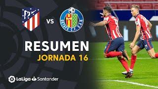 Resumen de Atlético de Madrid vs Getafe CF (1-0)