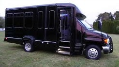SOLD - 2004 Ford E350 Econoline Limousine Bus For Sale~TV~Custom Lighting~OVER THE TOP!