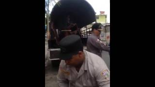 Coronel de la policía severino en los alcarrizos