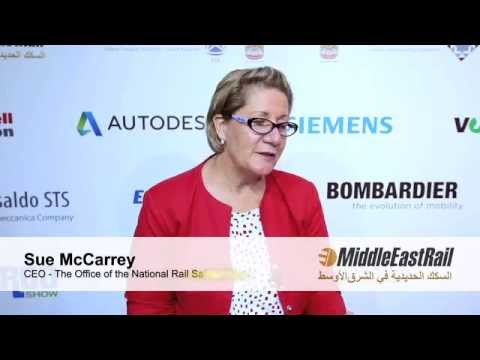 Rail TV 2016: Sue McCarrey -The Office of the National Rail Safety Regulator, Australia