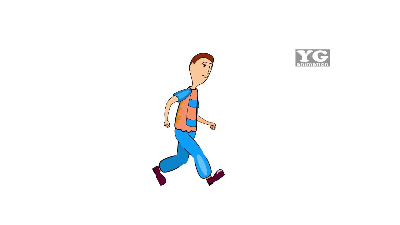 Download 5800  Gambar Animasi Orang Jalan HD Terbaik
