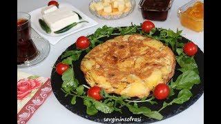 Nefis İspanyol Omleti Tarifi sevginin sofrasi & Kahvaltı Tarifleri
